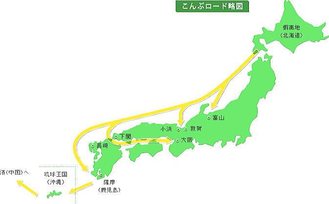 昆布ロード地図