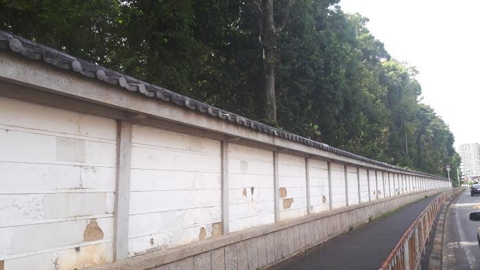 大鳥大社 筋塀