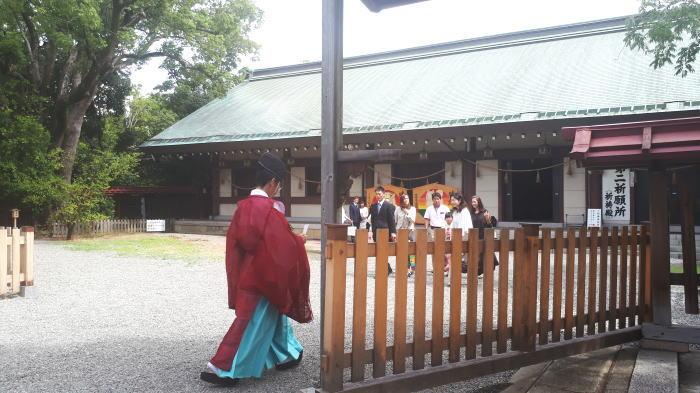 大鳥大社 祈祷所