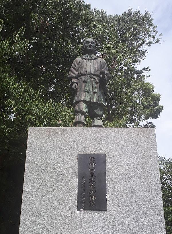 大鳥大社 日本武尊の像